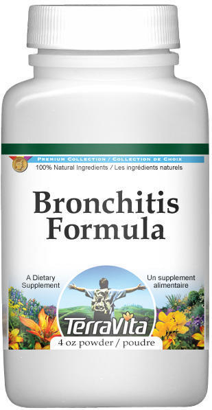 Bronchitis Formula Powder - Agrimony, Coltsfoot, Mullein and More