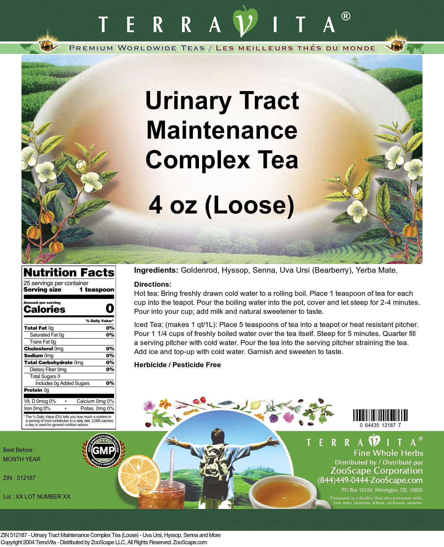 Urinary Tract Maintenance Complex