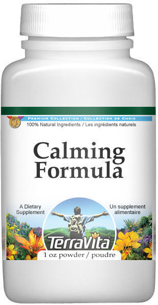Calming Formula Powder - Chamomile, Vervain, Linden and More