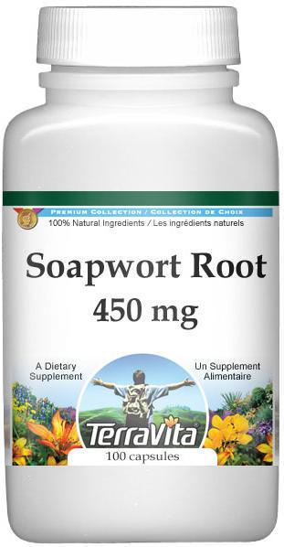 Soapwort Root - 450 mg