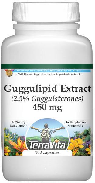 Guggulipid Extract (2.5% Guggulsterones) - 450 mg
