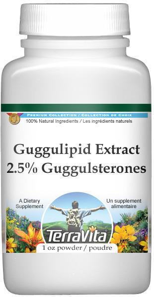 Guggulipid Extract (2.5% Guggulsterones) Powder