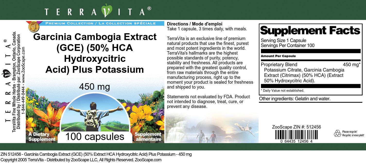 Garcinia and Potassium