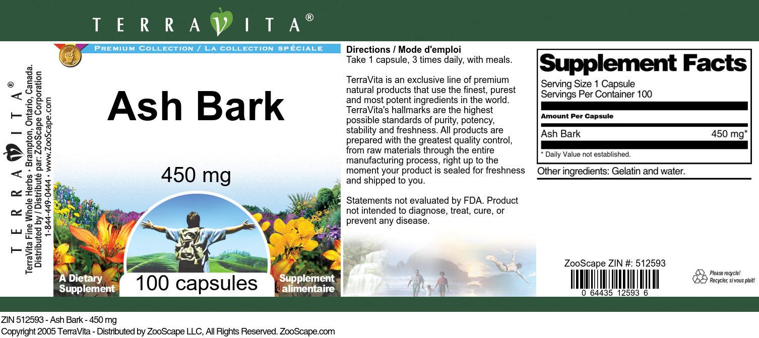 Ash Bark - 450 mg