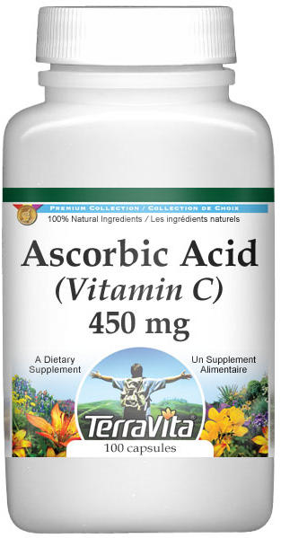 Ascorbic Acid (Vitamin C) - 450 mg