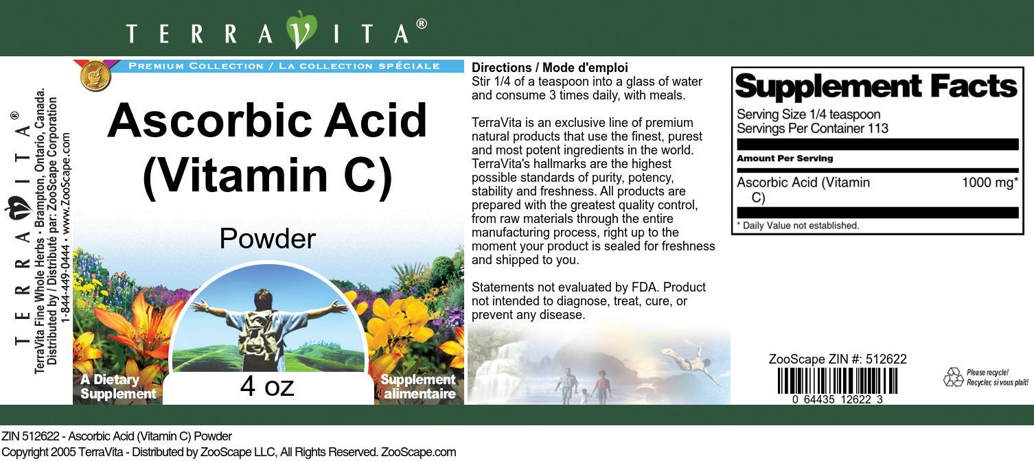 Ascorbic Acid <BR>(Vitamin C)