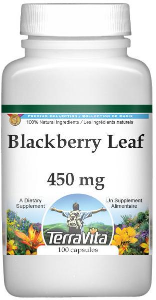 Blackberry Leaf - 450 mg