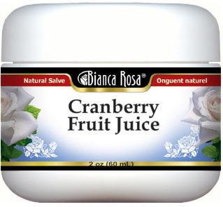 Cranberry Fruit Juice - Salve Ointment