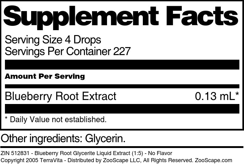 Blueberry Root