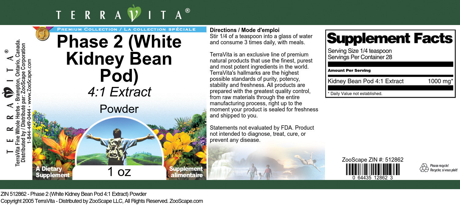 Kidney Bean Pod 4:1 Extract