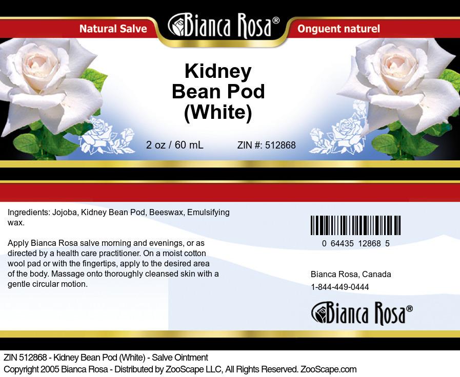 Kidney Bean Pod (White) - Salve Ointment