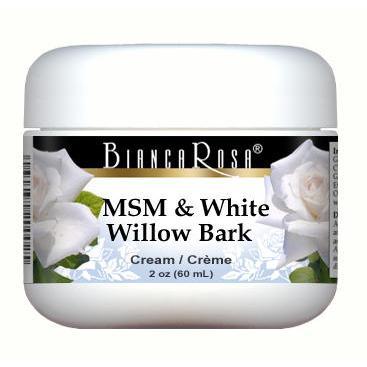 MSM and White Willow Bark Combination Cream