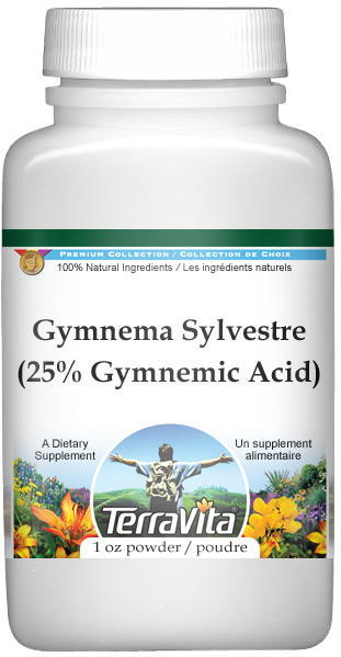 Extra Strength Gymnema Sylvestre (PE 25% Gymnemic Acid) Powder