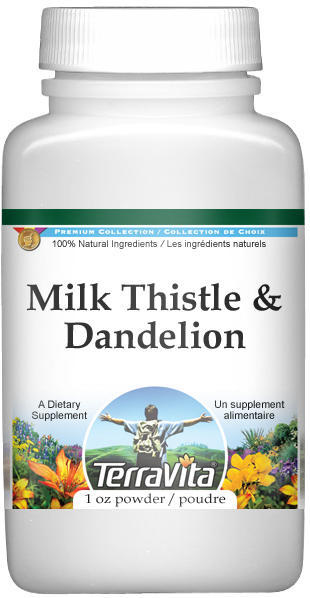 Milk Thistle and Dandelion Combination Powder