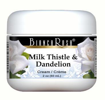 Milk Thistle and Dandelion Combination Cream
