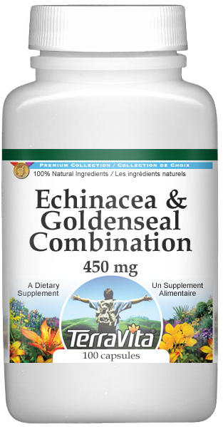Echinacea and Goldenseal Combination - 450 mg