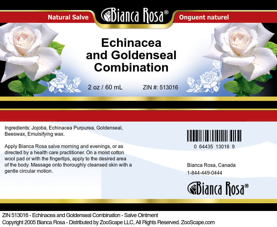 Echinacea and Goldenseal Combination - Salve Ointment