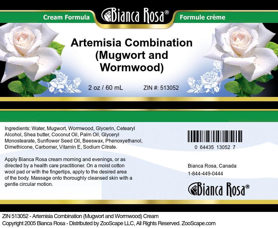 Artemisia Combination (Mugwort and Wormwood) Cream