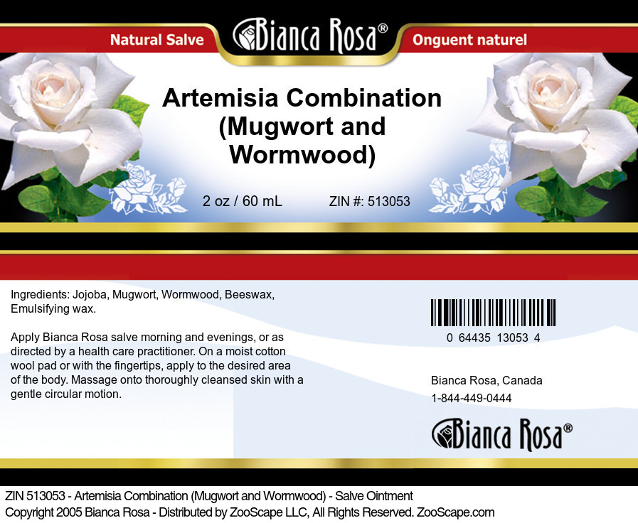 Artemisia Combination (Mugwort and Wormwood) - Salve Ointment