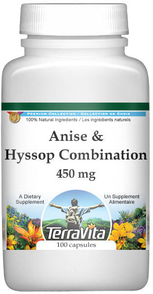 Anise and Hyssop Combination - 450 mg
