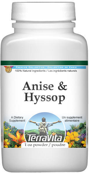 Anise and Hyssop Combination Powder