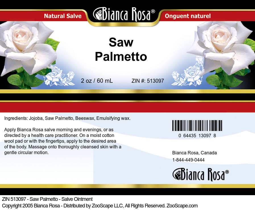 Saw Palmetto - Salve Ointment
