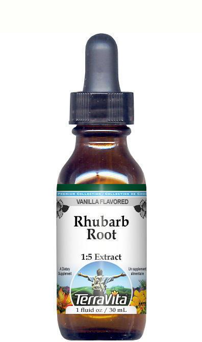 Rhubarb Root Glycerite Liquid Extract (1:5)