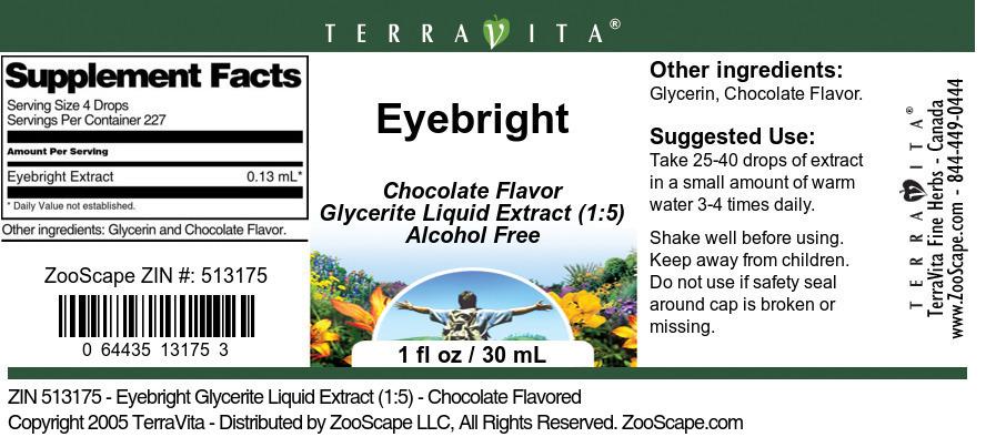 Eyebright Glycerite Liquid Extract (1:5)