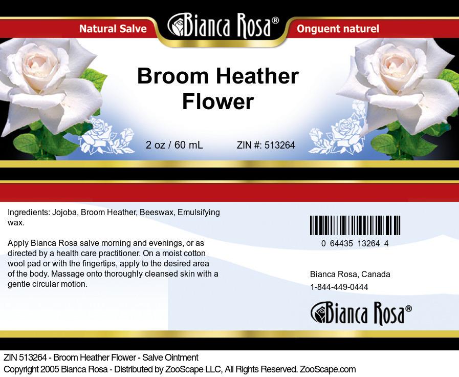Broom Heather Flower - Salve Ointment