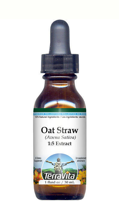 Wild Oat Straw (Avena Sativa) Glycerite Liquid Extract (1:5) - No Flavor