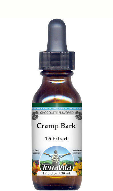 Cramp Bark (Viburnum) Glycerite Liquid Extract (1:5) - Chocolate Flavored