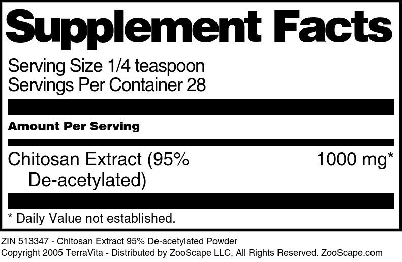 Chitosan 95% Extract