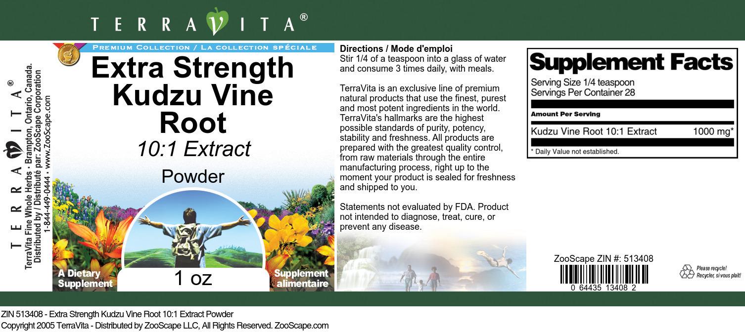 Kudzu Vine Root 10:1 Extract