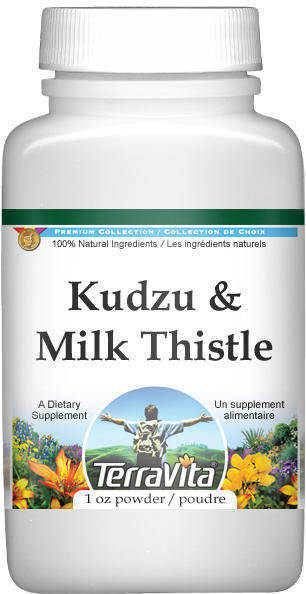 Kudzu and Milk Thistle Combination Powder
