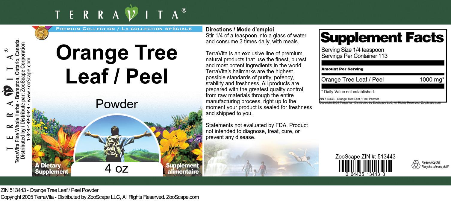 Orange Tree Leaf / Peel Powder