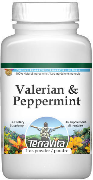 Valerian and Peppermint Combination Powder