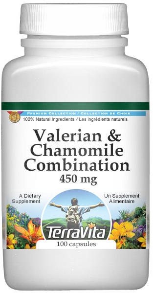 Valerian and Chamomile Combination - 450 mg