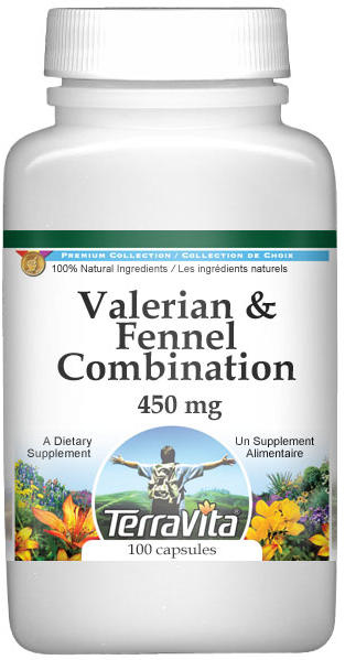 Valerian and Fennel Combination - 450 mg