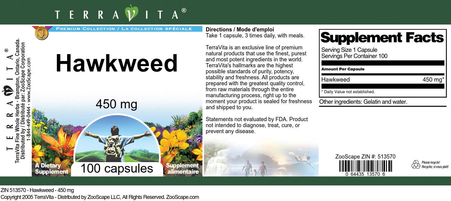 Hawkweed - 450 mg