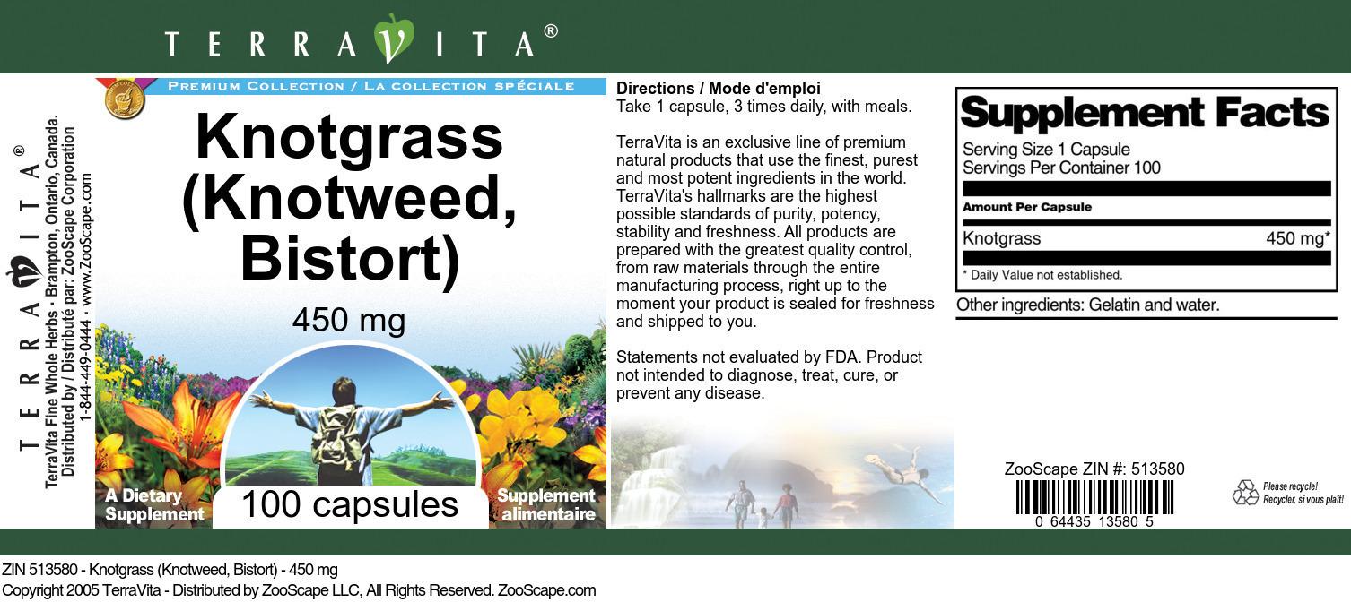 Knotgrass (Knotweed, Bistort) - 450 mg