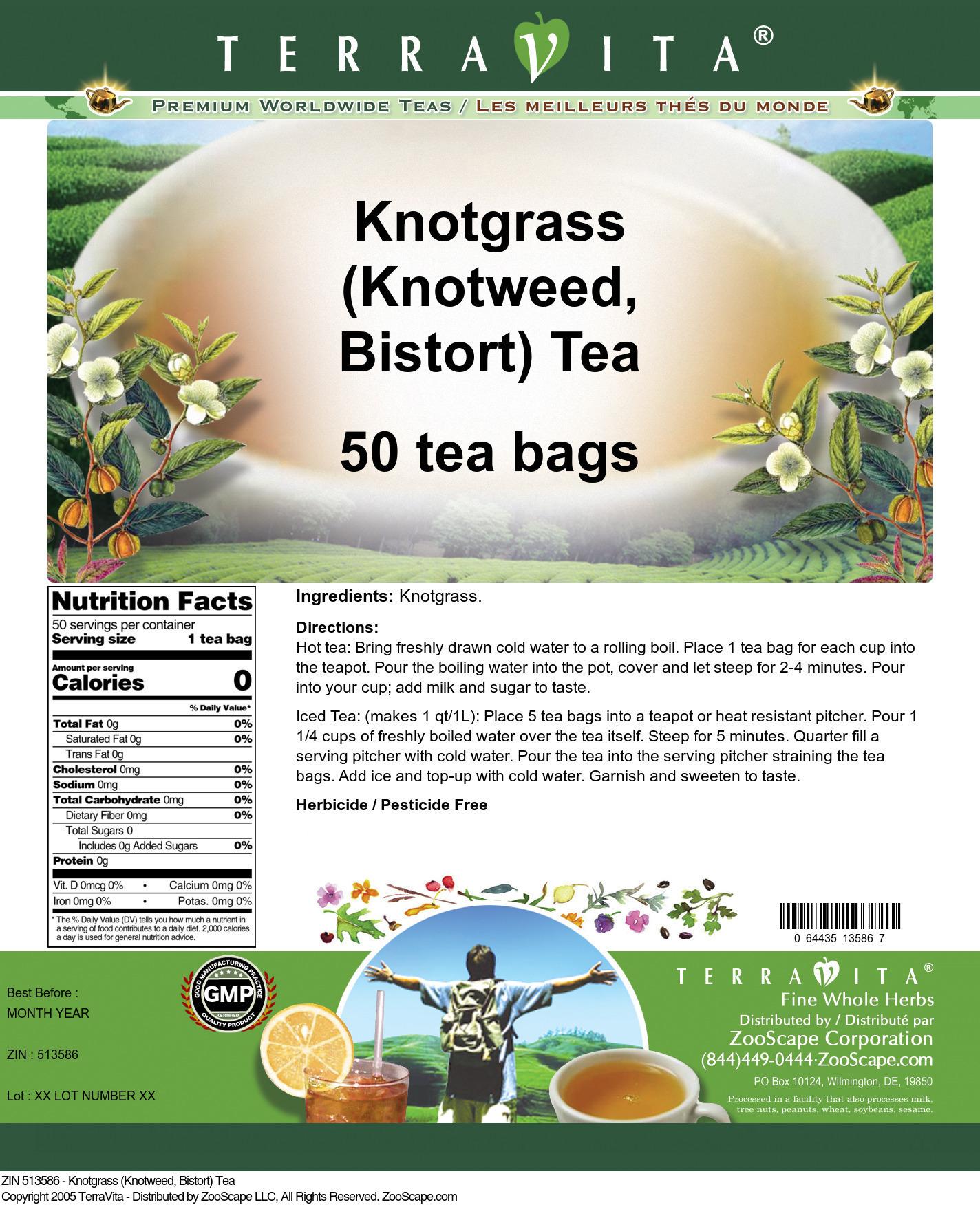 Knotgrass (Knotweed, Bistort) Tea