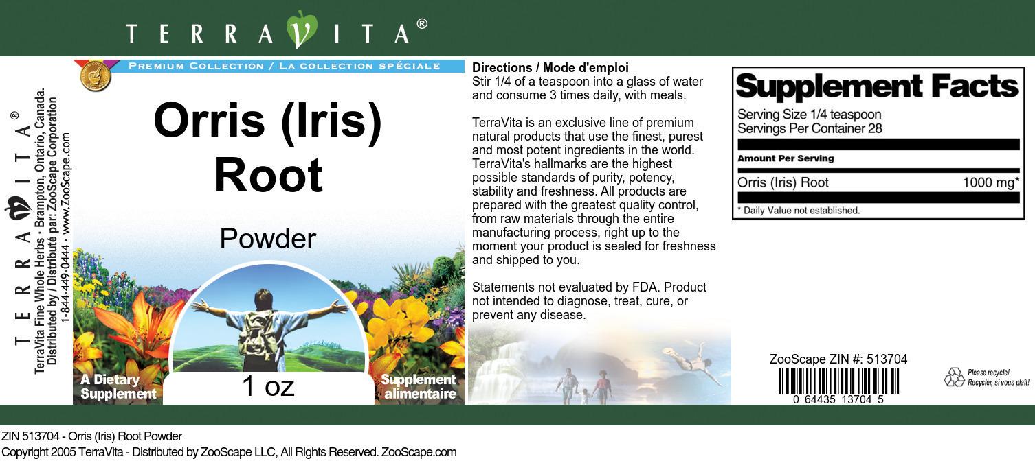 Orris <BR>(Iris) Root