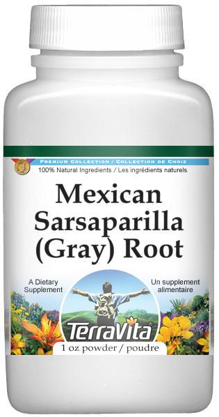 Mexican Sarsaparilla (Gray) Root Powder