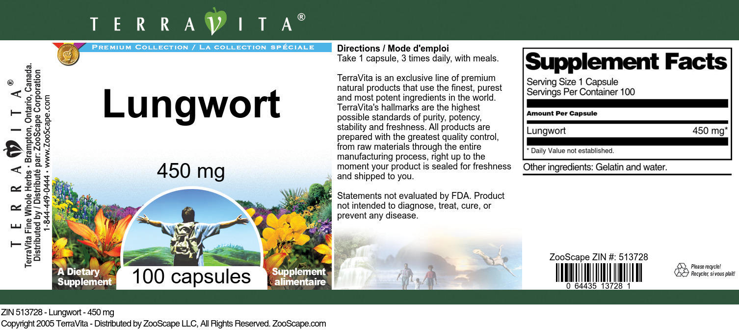 Lungwort - 450 mg