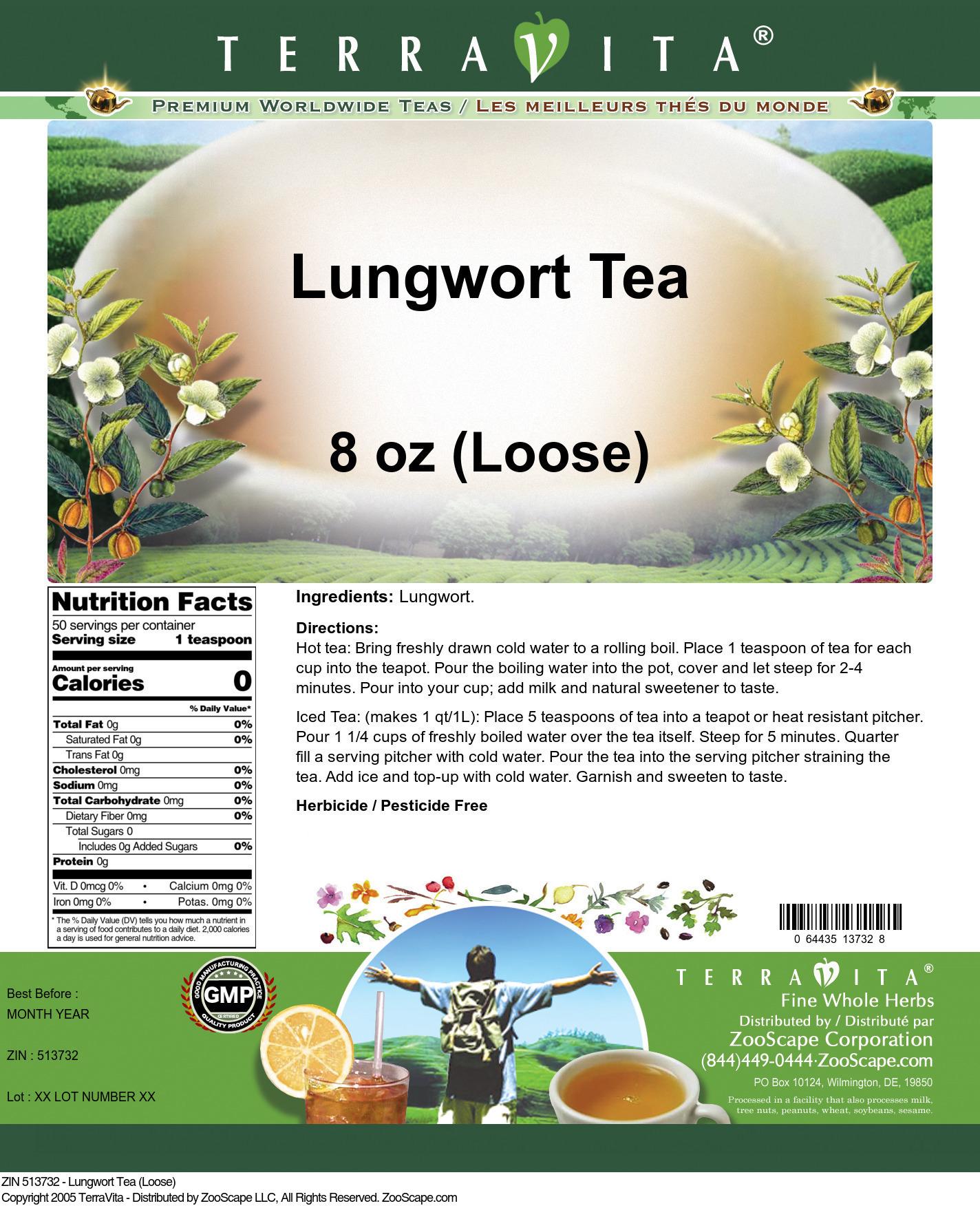 Lungwort Tea (Loose)