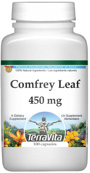 Comfrey Leaf - 450 mg