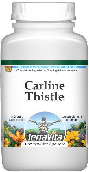 Carline Thistle (Carlina) Powder