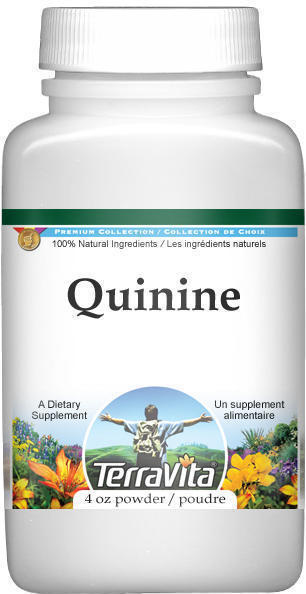 Quinine Bark (Red Cinchona) Powder - 4 oz - ZIN: 513832