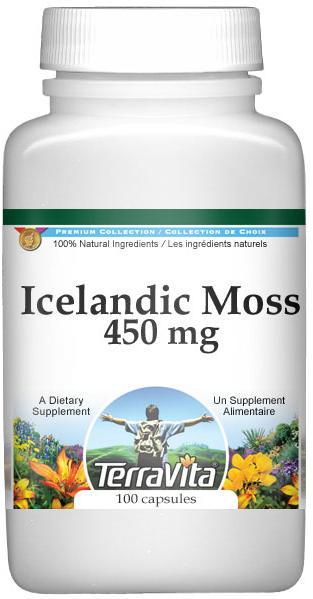Icelandic Moss - 450 mg