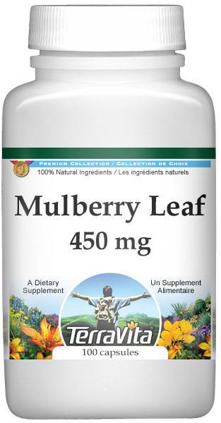 Mulberry Leaf - 450 mg